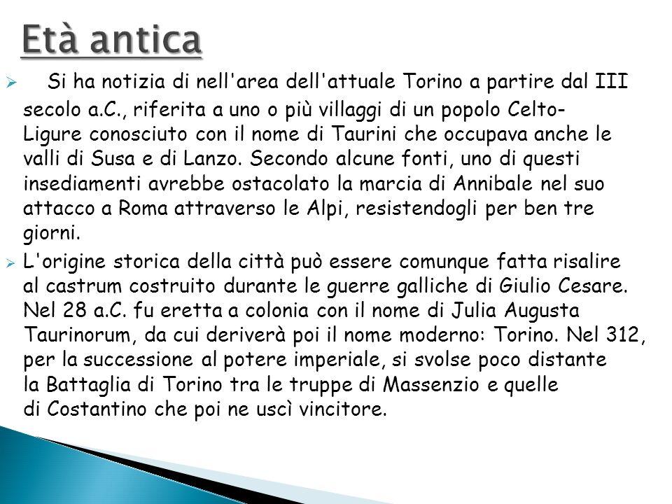 Si ha notizia di nell'area dell'attuale Torino a partire dal III secolo a.C., riferita a uno o più villaggi di un popolo Celto- Ligure conosciuto con