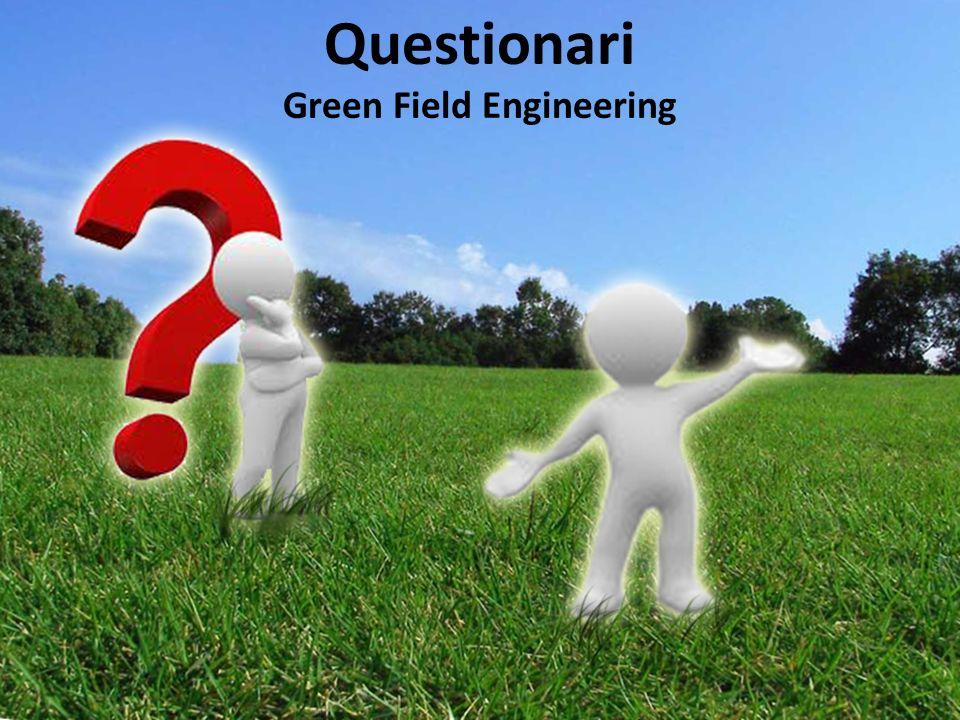 Questionari Green Field Engineering