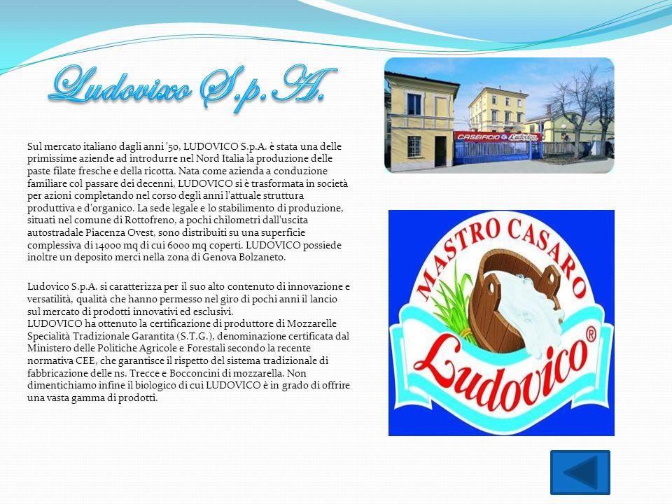 Sul mercato italiano dagli anni '50, LUDOVICO S.p.A. è stata una delle primissime aziende ad introdurre nel Nord Italia la produzione delle paste fila