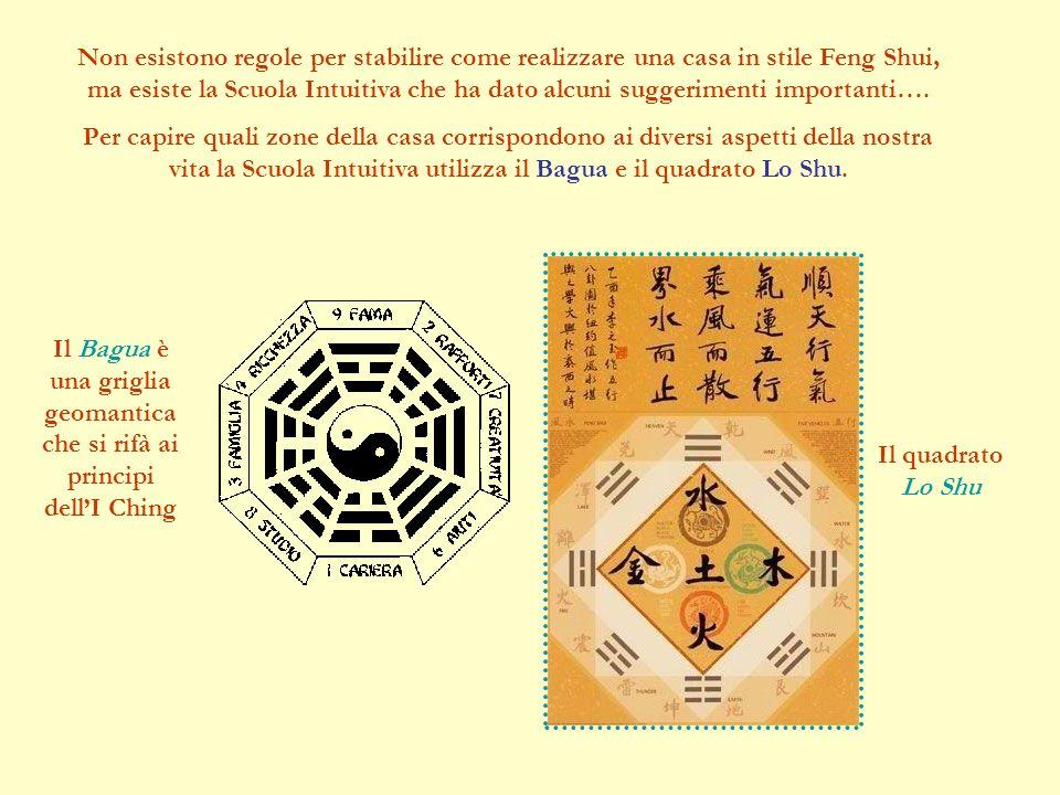Non esistono regole per stabilire come realizzare una casa in stile Feng Shui, ma esiste la Scuola Intuitiva che ha dato alcuni suggerimenti importanti….