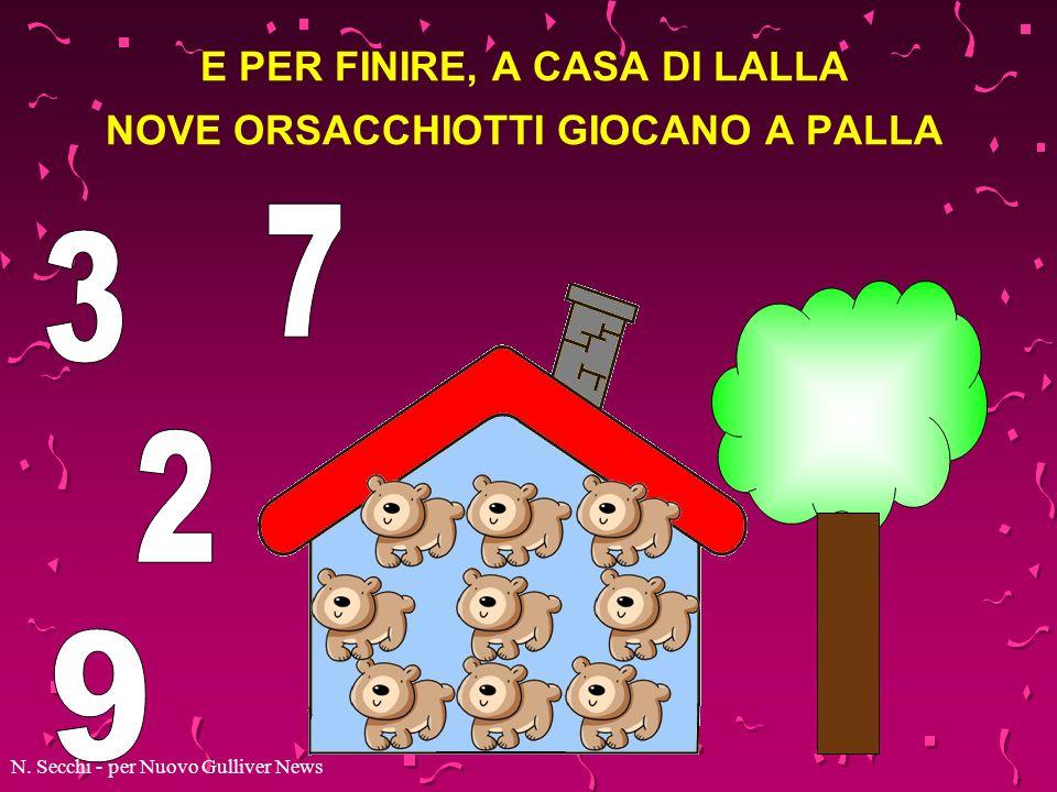 NELLA CASETTA DI NONNO MEDORO OTTO RANOCCHIE CANTANO IN CORO N. Secchi - per Nuovo Gulliver News