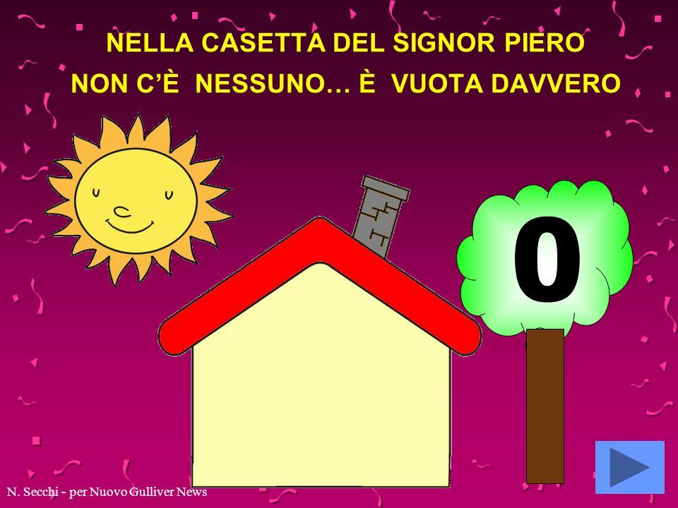 NELLA CASETTA DEL SIGNOR PIERO NON CE NESSUNO… E VUOTA DAVVERO! N. Secchi - per Nuovo Gulliver News