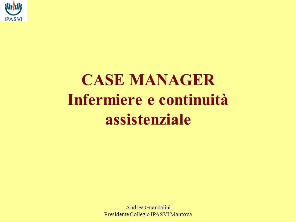 Andrea Guandalini Presidente Collegio IPASVI Mantova Pensare di svuotare gli ospedali, prima di aver dato risposte alternative è velleitario ma soprattutto pericoloso.