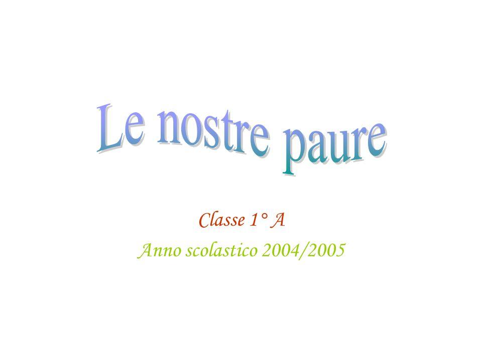 Classe 1° A Anno scolastico 2004/2005
