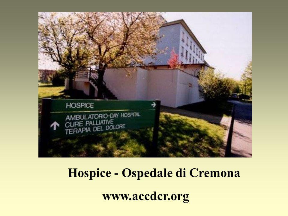 Hospice - Ospedale di Cremona www.accdcr.org