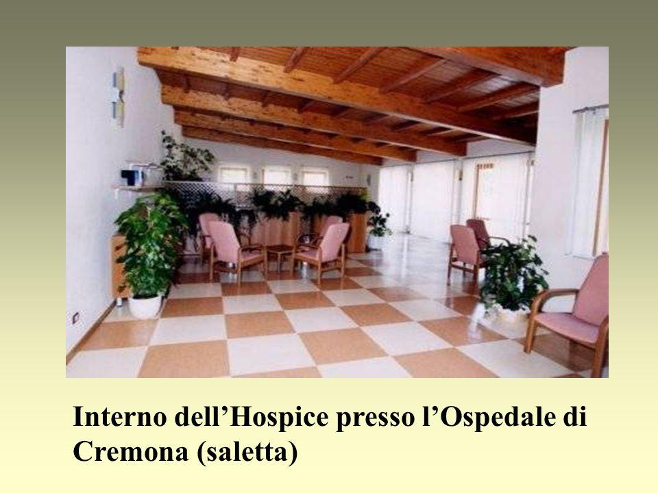 Interno dellHospice presso lOspedale di Cremona (saletta)