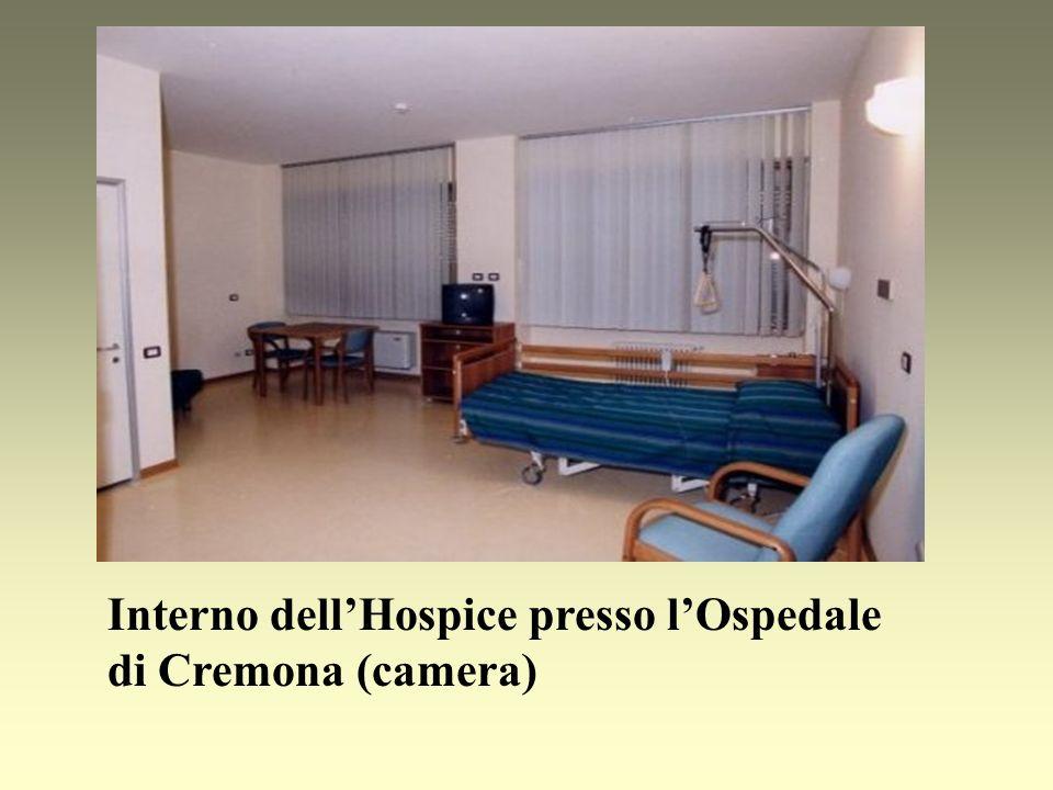 Interno dellHospice presso lOspedale di Cremona (camera)