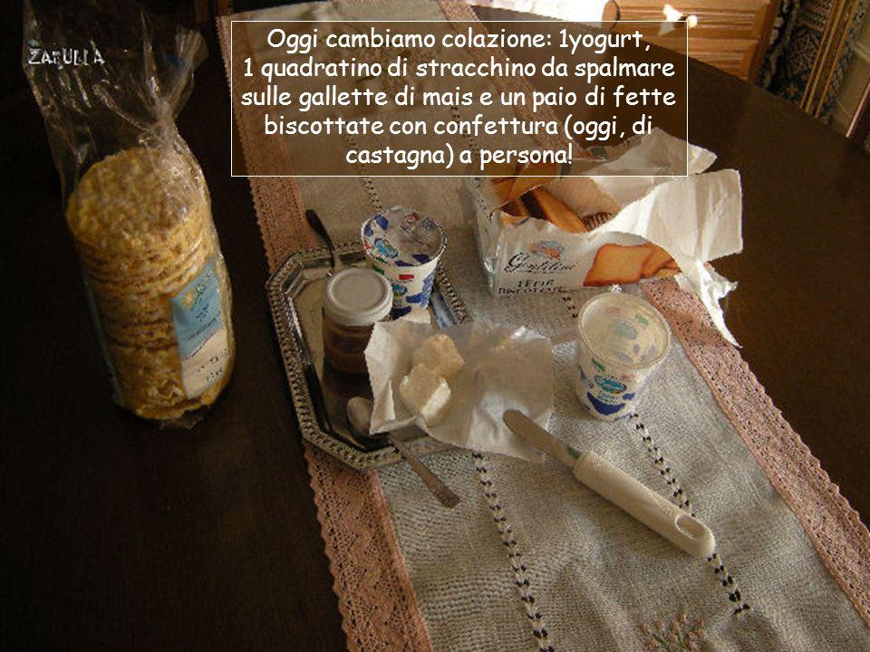 Terzo giorno Mammamia, che emozione: la dimagrologa dice che oggi fa il risotto con pomodoro, zucchine e Grana Padano!!.
