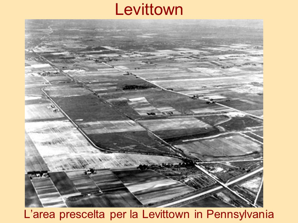 Levittown Larea prescelta per la Levittown in Pennsylvania