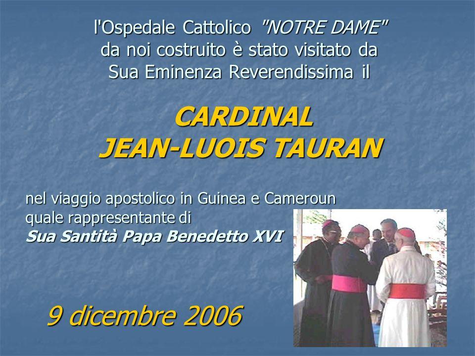 LETTERA di Sua Emm. Rev.ma il CARDINALE Città del Vaticano, 21 giugno 2007 Signor Presidente, Le sono tanto grato della generosa donazione che Lei, in