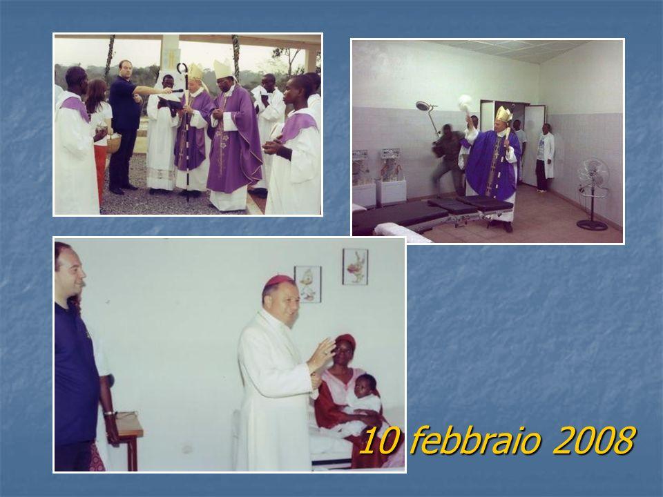Nel 2008 visita di Sua Eccellenza Reverendissima il Nunzio Apostolico del Cameroun e Guinea Equatoriale MONS. ELISEO ANTONIO ARIOTTI e benedizione del