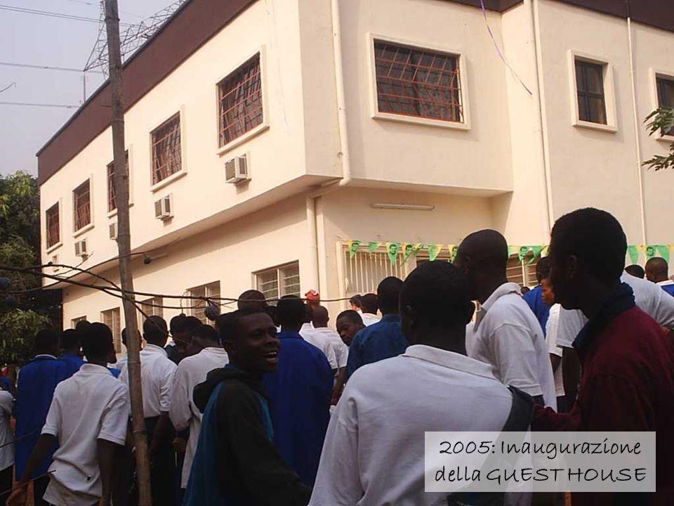 2005: Inaugurazione della GUEST HOUSE