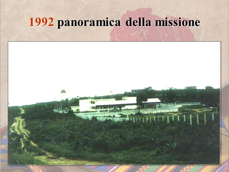 1992 panoramica della missione