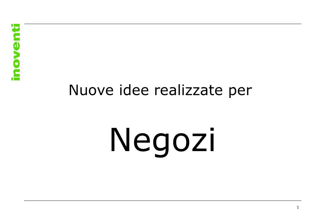 1 Negozi Nuove idee realizzate per