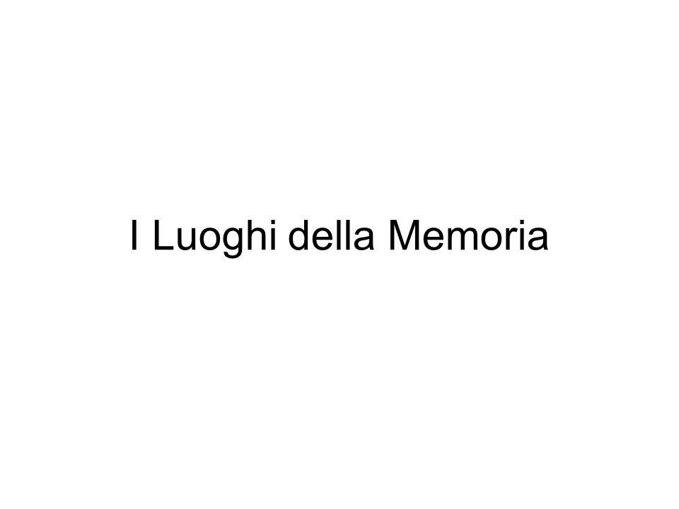 I Luoghi della Memoria