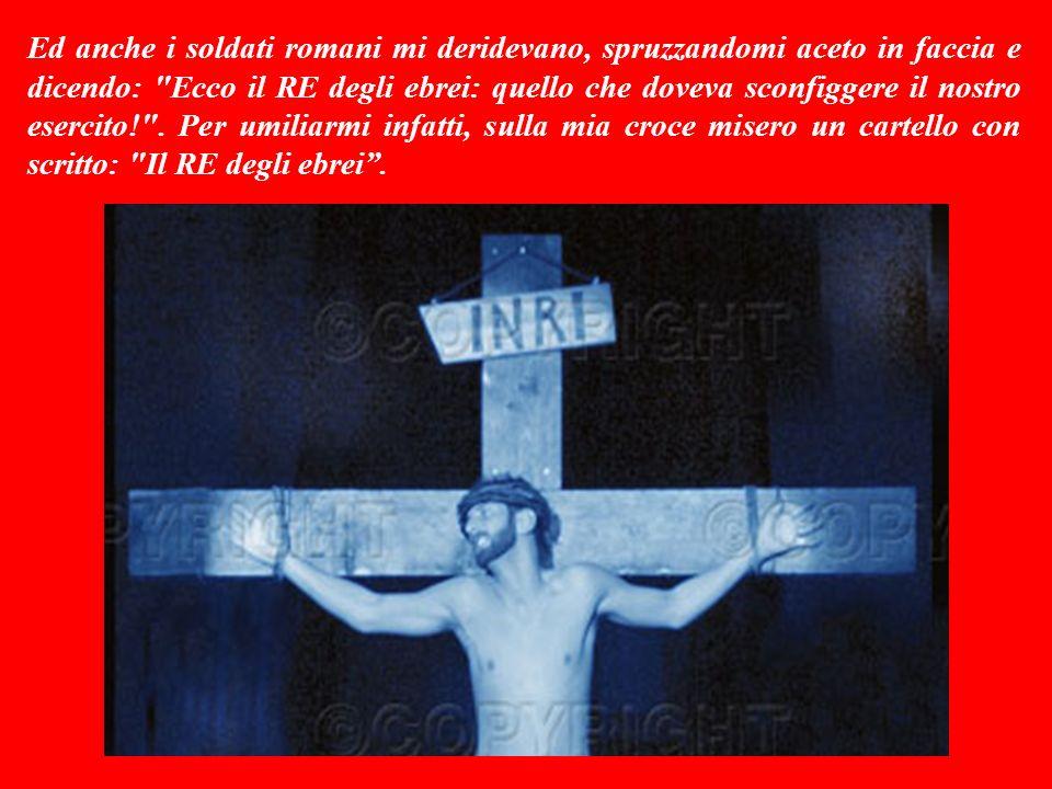 Questo vangelo è Parola di Dio. Quindi è Gesù che ci parla e ci dice: Mentre soffrivo sulla croce, la gente stava lì a godersi il macabro spettacolo.