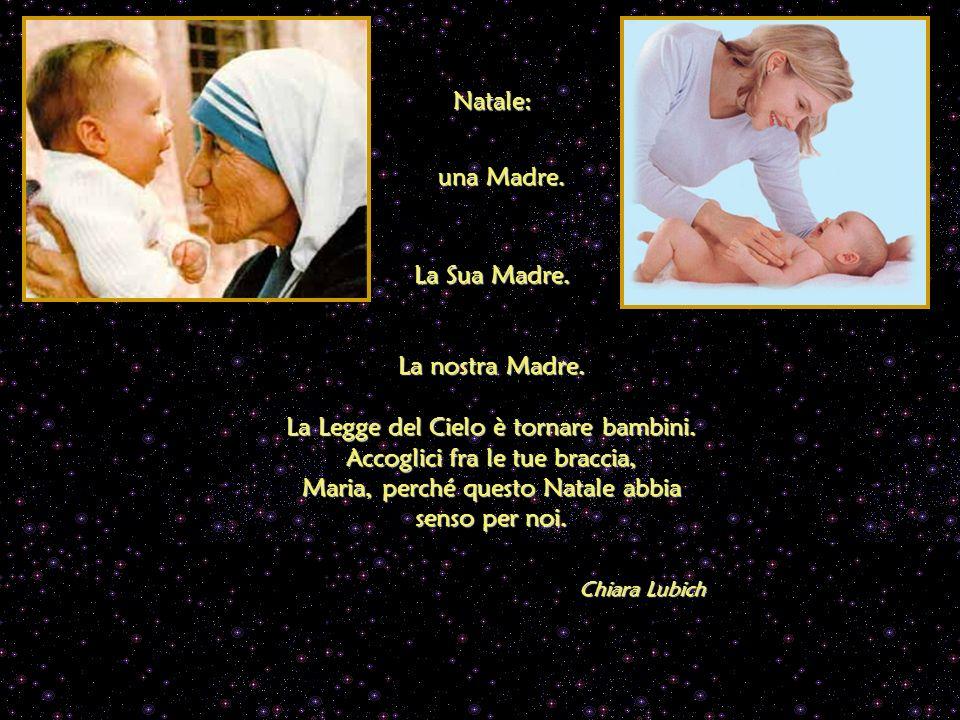 La nostra Madre.La Legge del Cielo è tornare bambini.
