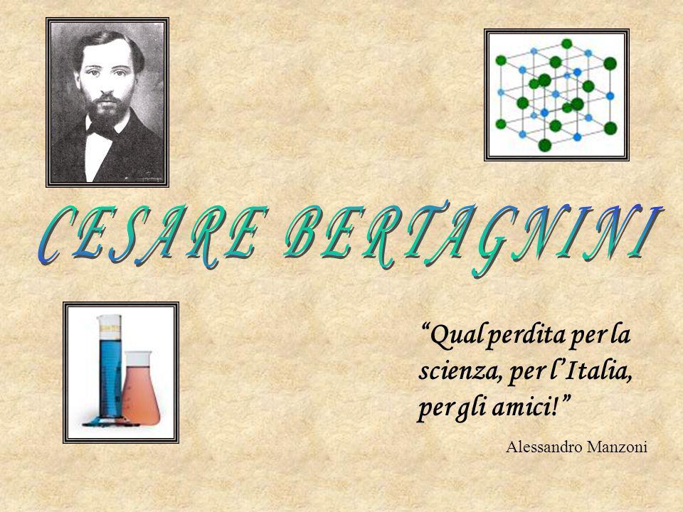 Qual perdita per la scienza, per lItalia, per gli amici! Alessandro Manzoni