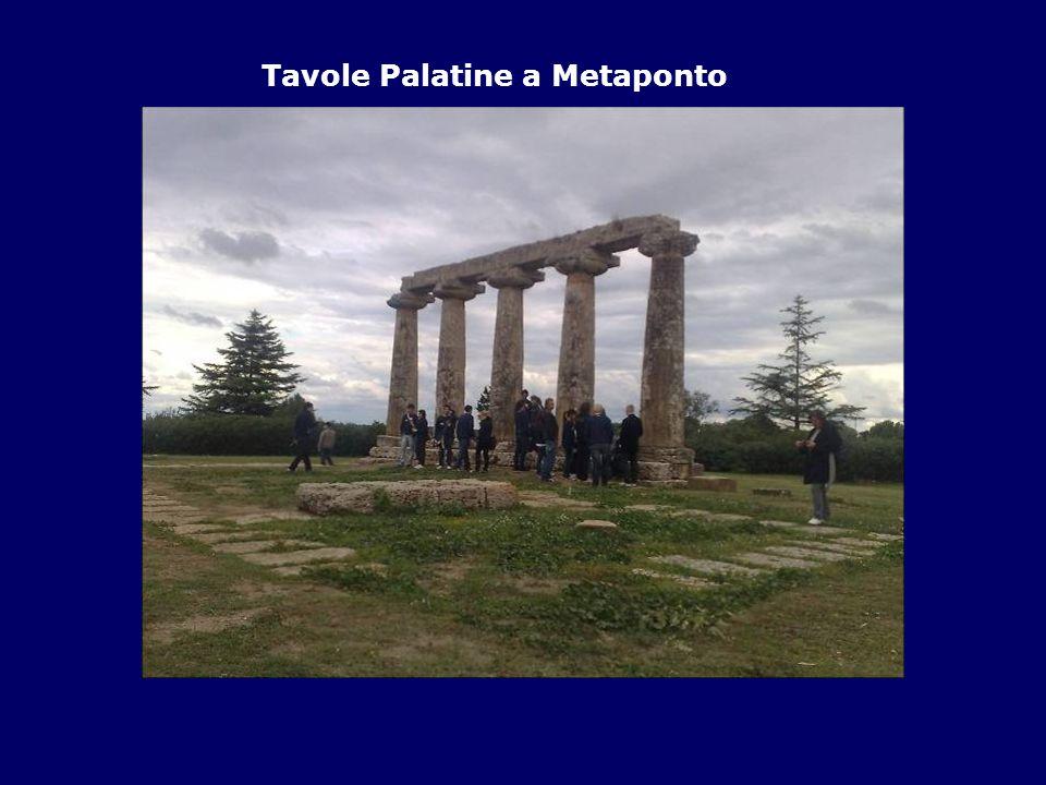 Tavole Palatine a Metaponto