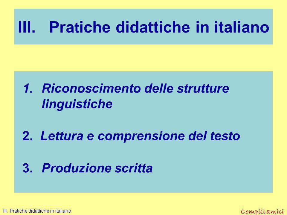 Compiti amici Nella produzione scritta Disgrafia Disortografia Difficoltà nello strutturare e pianificare II. Difficoltà specifiche in italiano per st