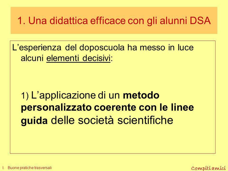 INDICE I Una didattica efficace con alunni DSA II Difficoltà specifiche in italiano per studenti con DSA III Pratiche didattiche in italiano