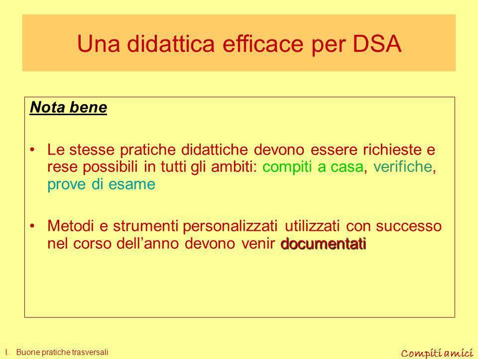 Compiti amici 3. Produzione scritta PUNTI CRITICI Come attuare il rinforzo? La prova finale III. Pratiche didattiche in italiano