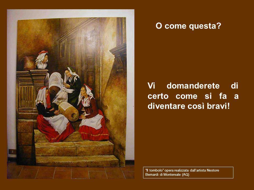 Vi piacerebbe realizzare delle opere darte come questa? Copia della Madonna col latte, realizzata dallartista Nestore Bernardi di Montereale (AQ)
