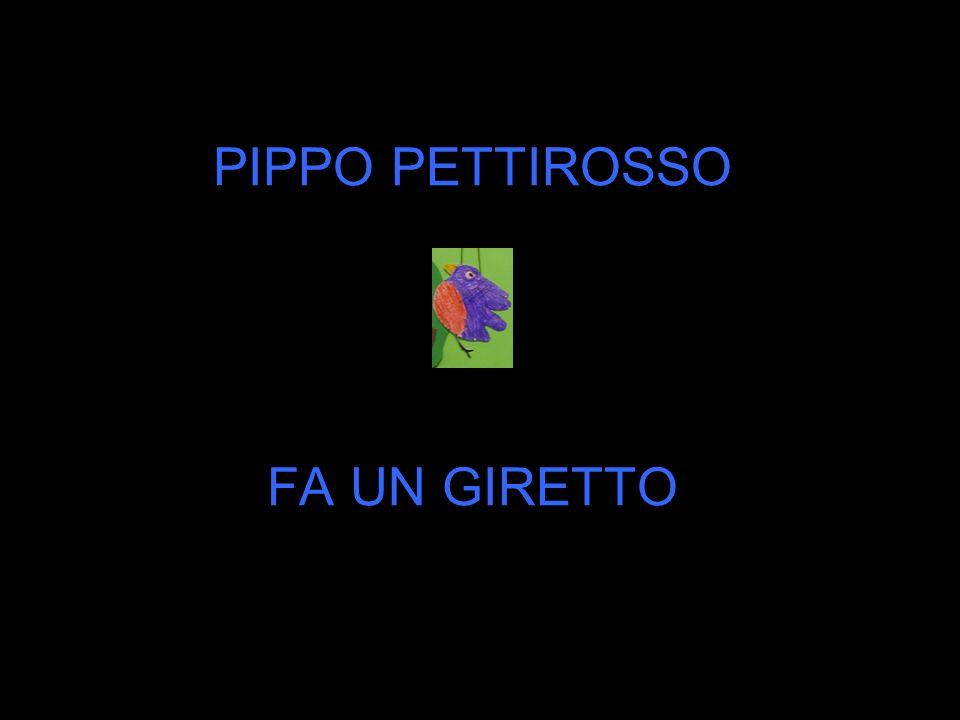 PIPPO PETTIROSSO FA UN GIRETTO