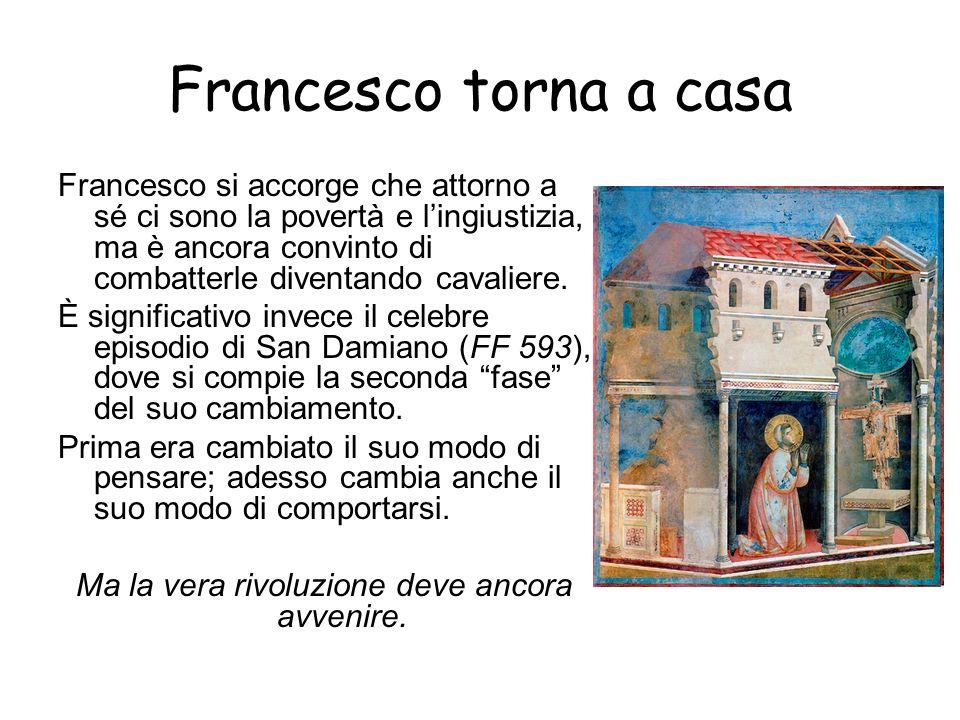 Infatti, Francesco comincia ad avvicinarsi ai più poveri, soprattutto ai lebbrosi, che erano disprezzati e isolati da tutti a causa della loro terribile infermità.