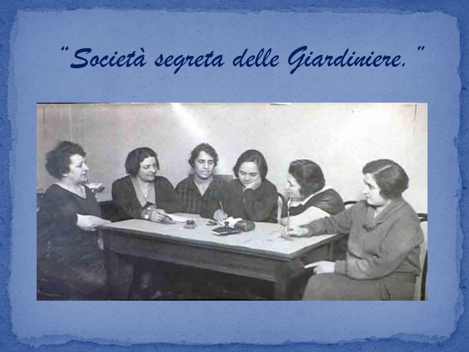 Società segreta delle Giardiniere.