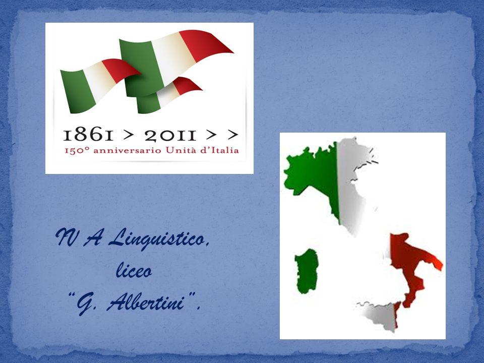 IV A Linguistico, liceo G. Albertini.