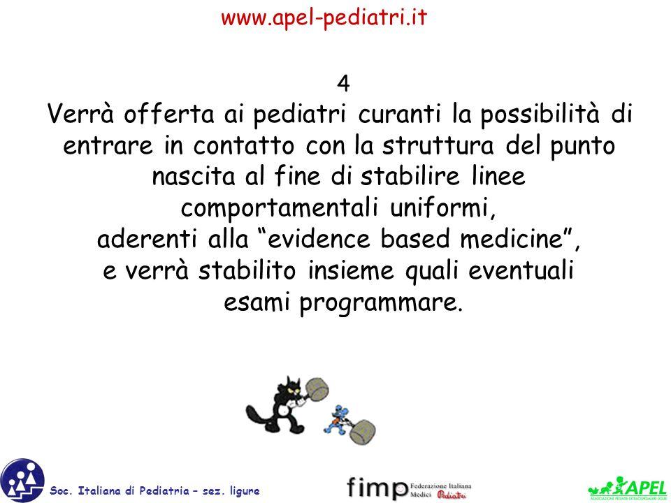 www.apel-pediatri.it Soc.Italiana di Pediatria – sez.