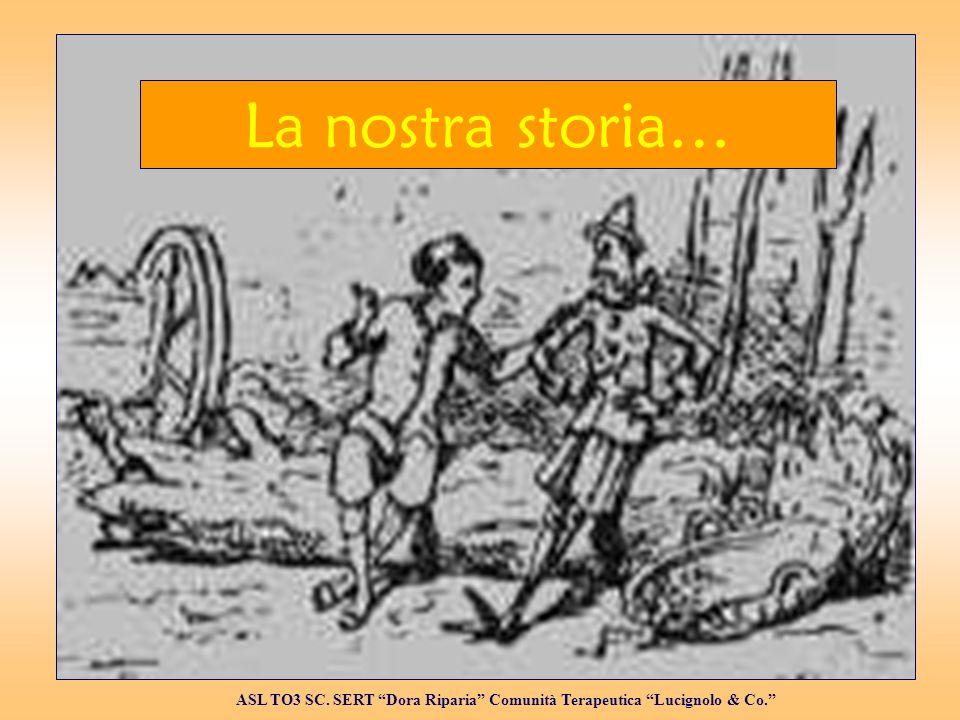 Al lavoro 1995 ASL TO3 SC. SERT Dora Riparia Comunità Terapeutica Lucignolo & Co.