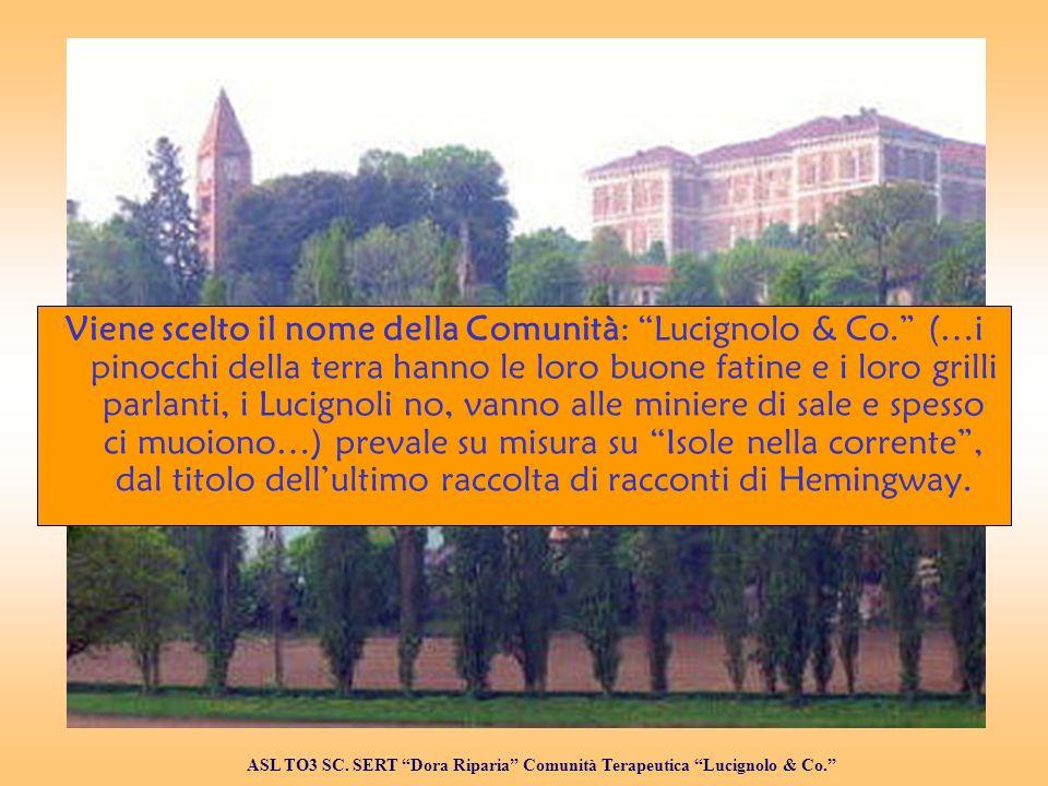 Viene scelto il nome della Comunità: Lucignolo & Co.