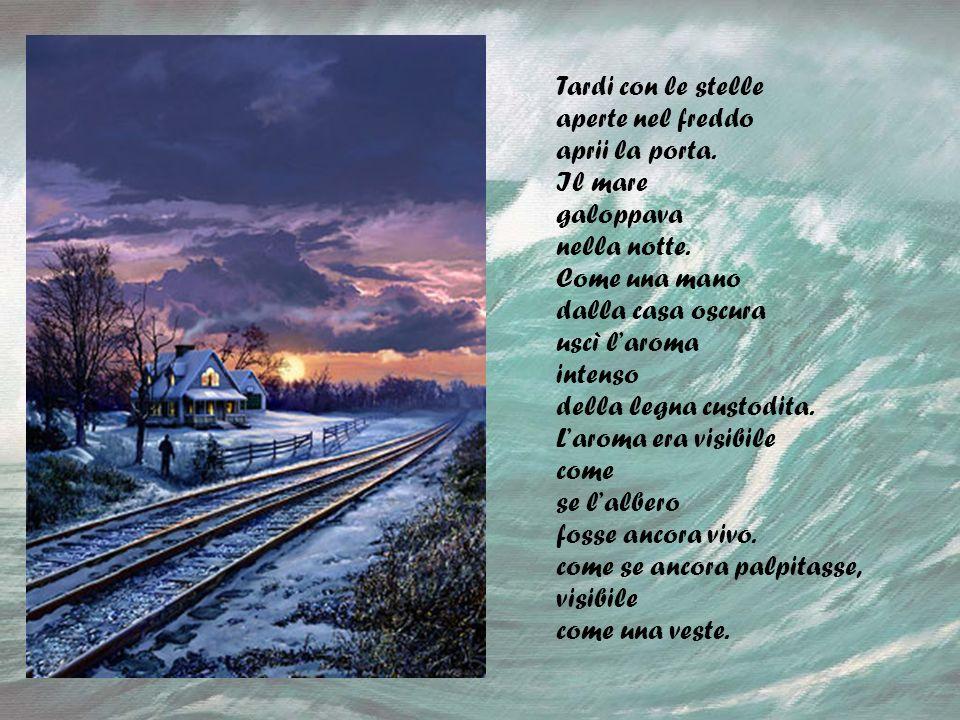 Ode allodore della legna Poesia di Pablo Neruda By Macc Dany