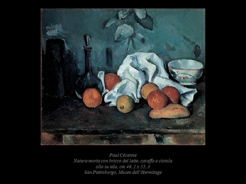 Paul Cézanne Natura morta con bricco del latte, caraffa e ciotola olio su tela, cm 46, 2 x 55, 3 San Pietroburgo, Museo dellHermitage