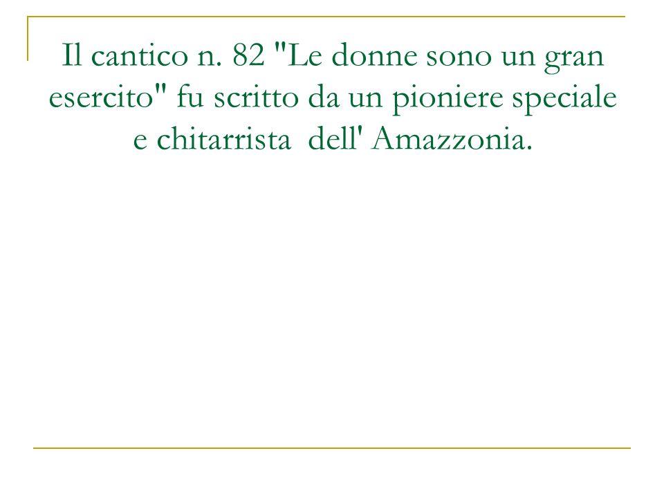 Il cantico n. 82