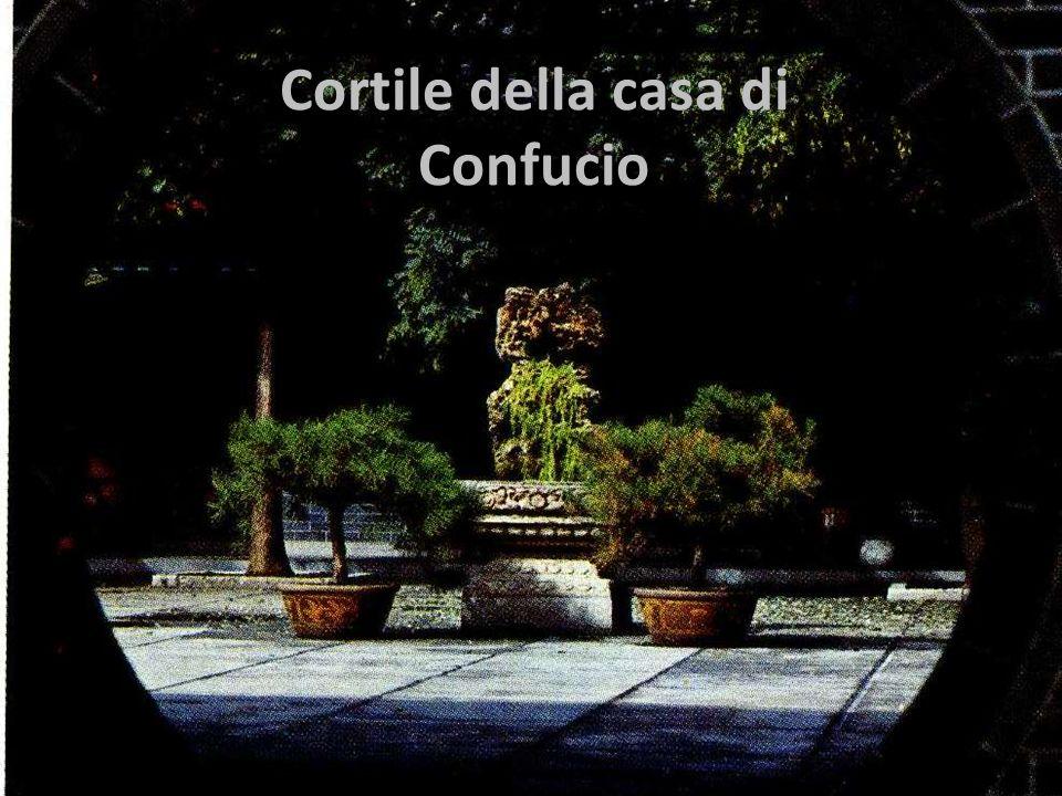 Cortile della casa di Confucio