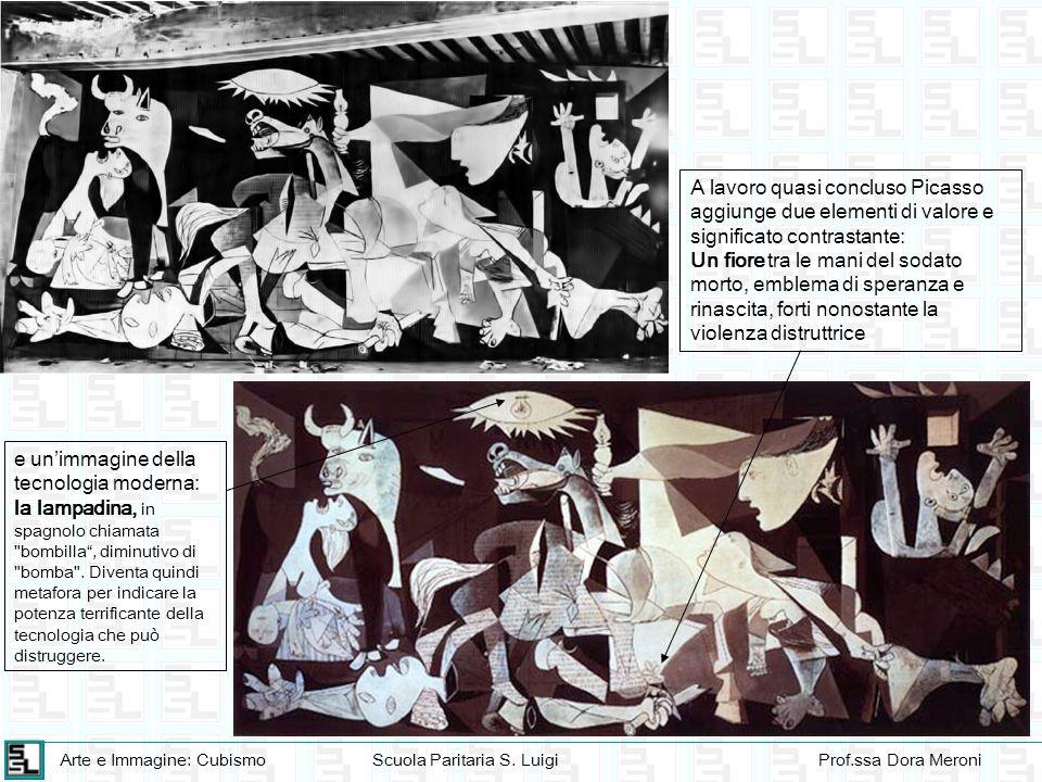 Arte e Immagine: CubismoScuola Paritaria S. LuigiProf.ssa Dora Meroni e unimmagine della tecnologia moderna: la lampadina, in spagnolo chiamata