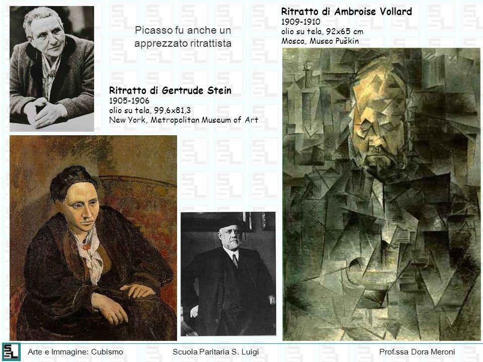 Arte e Immagine: CubismoScuola Paritaria S. LuigiProf.ssa Dora Meroni Ritratto di Ambroise Vollard 1909-1910 olio su tela, 92x65 cm Mosca, Museo Puški