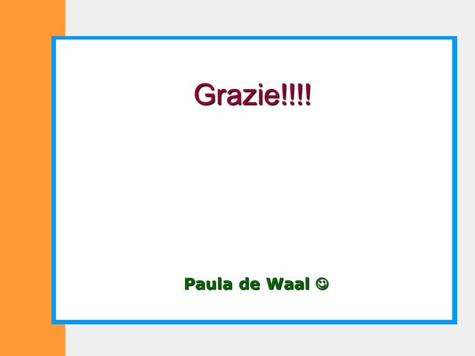 Paula de Waal Paula de Waal Grazie!!!!