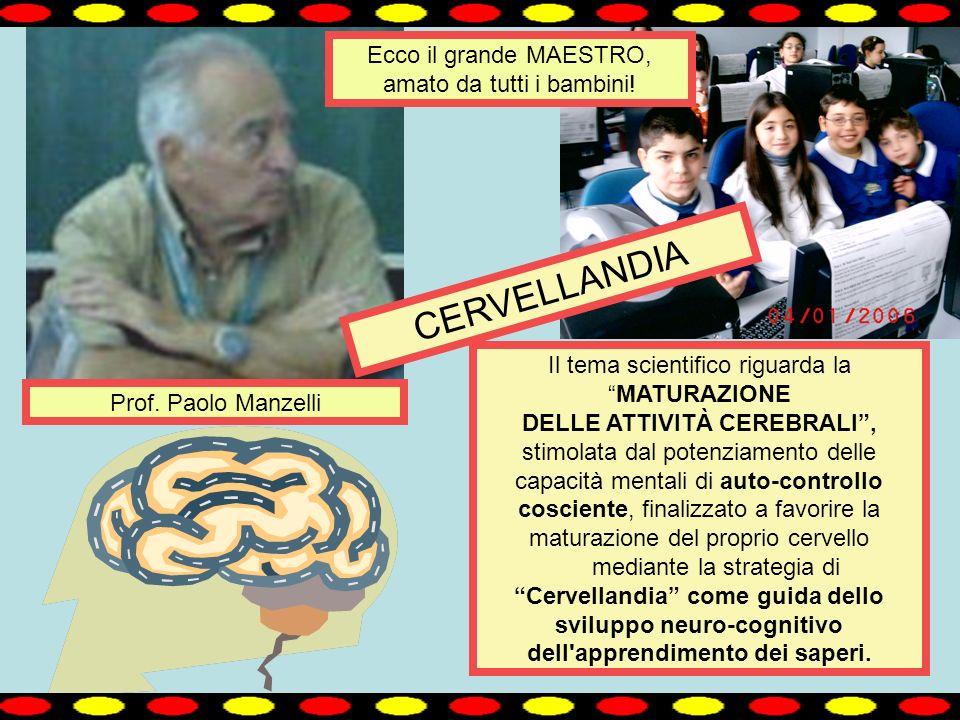 . Il tema scientifico riguarda laMATURAZIONE DELLE ATTIVITÀ CEREBRALI, stimolata dal potenziamento delle capacità mentali di auto-controllo cosciente,