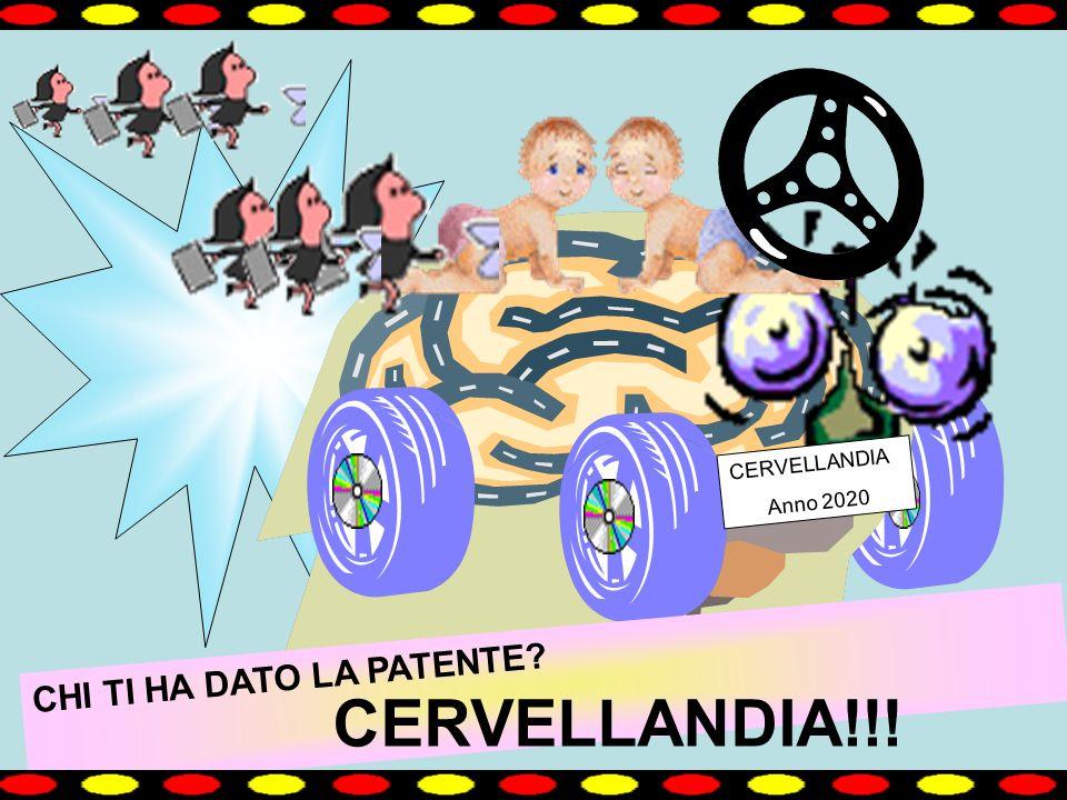 CHI TI HA DATO LA PATENTE? CERVELLANDIA Anno 2020 CERVELLANDIA!!!