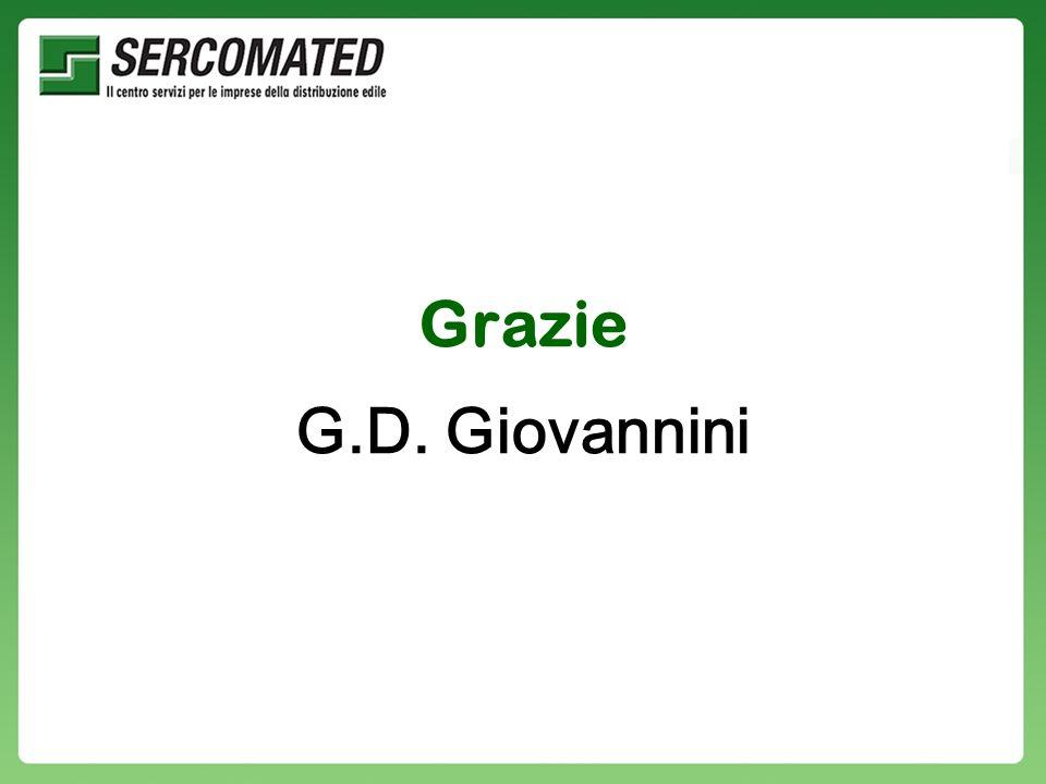 Grazie G.D. Giovannini