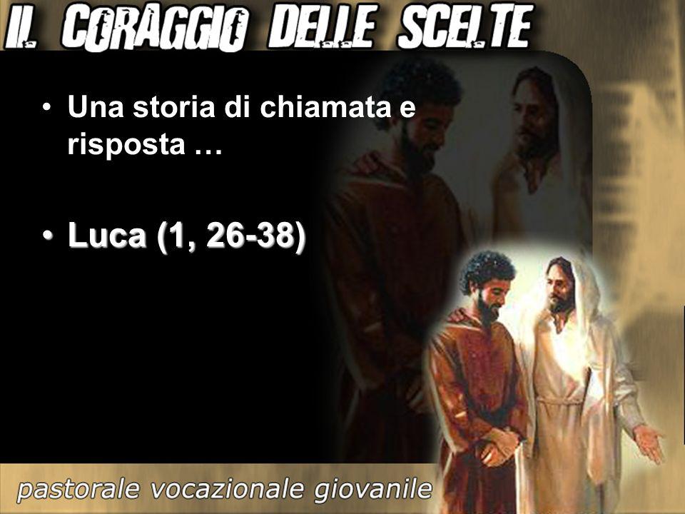 Una storia di chiamata e risposta … Luca (1, 26-38)Luca (1, 26-38)