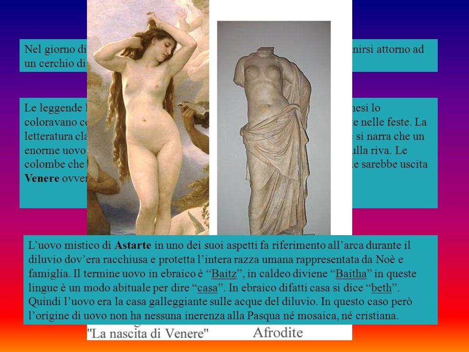 La Quaresima sostiene Cassiano un monaco marsigliese ha origine dagli adoratori della dea babilonese. Tale Quaresima nella primavera dellanno è osserv