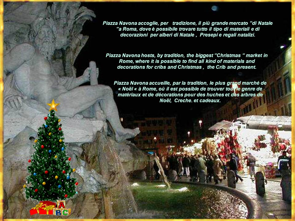 Tu scendi salle stelle with Zampogne A Christmas tale French – English - Italian Text and Graphic by Dianabreton