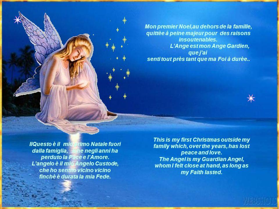 IlQuesto è il mio primo Natale fuori dalla famiglia, lche negli anni ha perduto la Pace e lAmore.