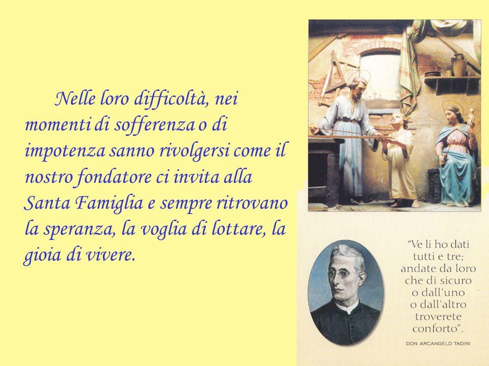 Don Arcangelo Tadini ha profondamente amato le famiglie affidate alla sua cura pastorale, ne ha condiviso le sofferenze, le gioie e le preoccupazioni