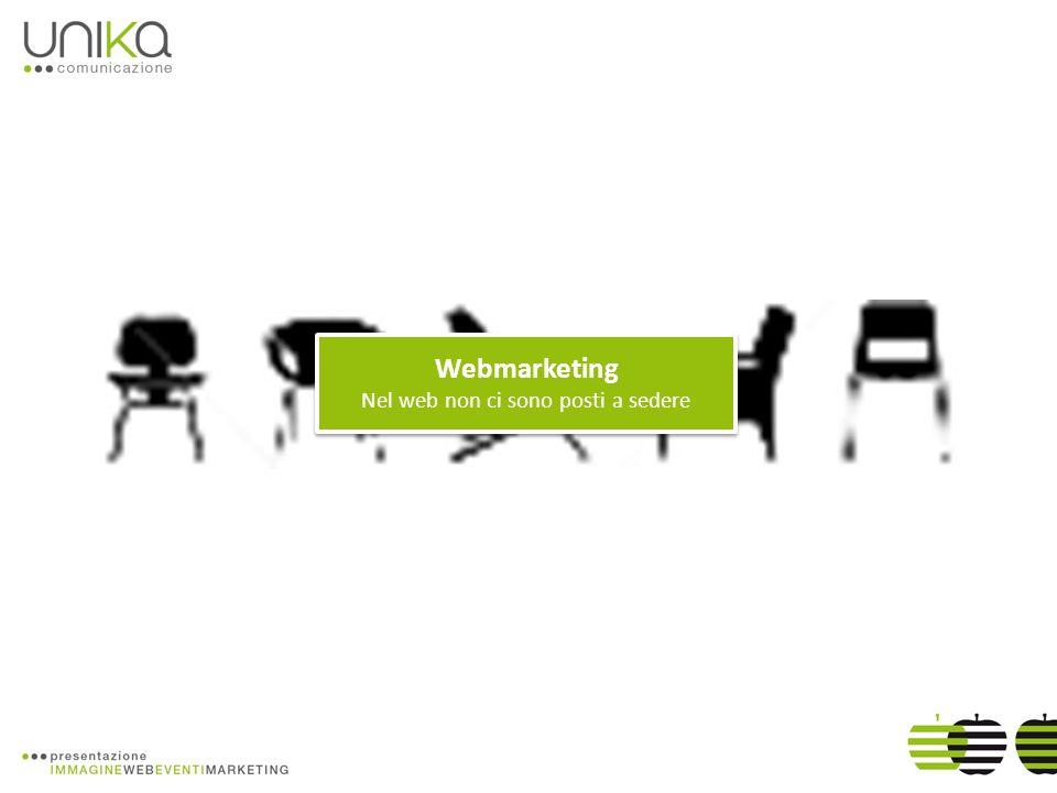 Webmarketing Nel web non ci sono posti a sedere